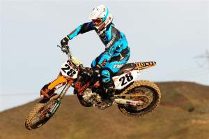 Summey looks comfortable on his new KTM