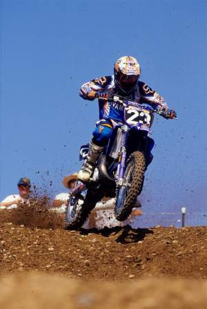Wey has ridden Yamahas two other times in his career: Once with the Mach 1 Yamaha team, and a previous time with Yamaha of Troy (pictured).