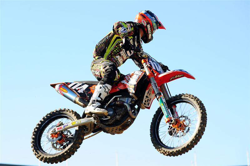 Justin Brayton was second-fastest with a 51.142.