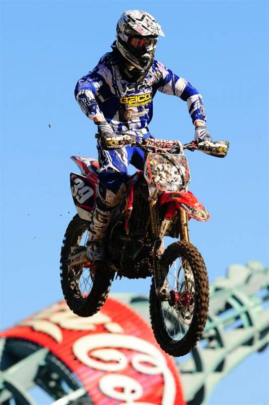 Trey Canard was seventh fastest, with a 51.611 achieved in the unseeded practice.