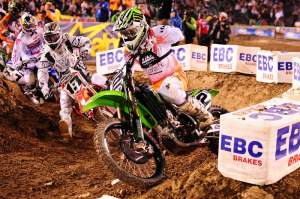 Ryan Villopoto put on the best performance yet of his young 450 career.