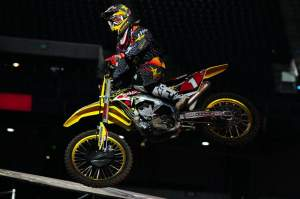 Chad Reed was second fastest in practice.