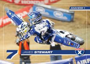 Get your Anaheim 1 Trading Card this weekend at the Racer X Booth