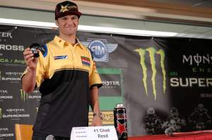 Chad Reed gets his 2008 championship ring and hopes to defend a title for the first time in his American career.