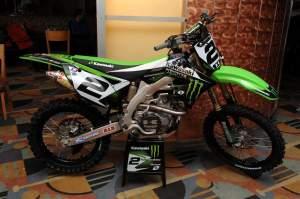 Ryan Villopoto's KX450F.