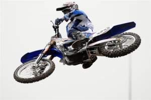 JGR Yamaha's Josh Grant.