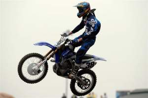 San Manuel Yamaha's Kyle Chisholm.