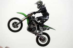 Monster Energy Kawasaki's Ryan Villopoto.