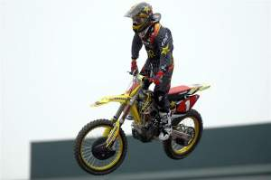 Defending AMA Supercross champ Chad Reed.