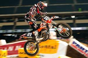 Muscle Milk/MDK KTM's Ryan Sipes.