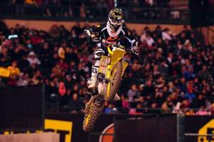Ryan Dungey came from midpack to finish third.