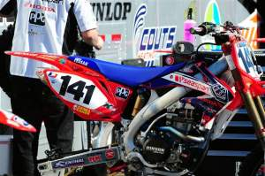 Steve Boniface's Troy Lee Designs 2008 CRF450R.