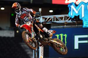 Justin Brayton was the fifth fastest in practice.