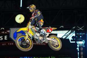 Chad Reed was second fastest, and his times were very consistently in the very low 53s.