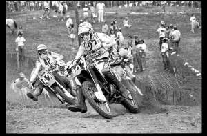 That's David Bailey from the '83 USGP at Unadilla, where he battled Brian Myerscough (42) and Danny LaPorte in an all-time classic race.