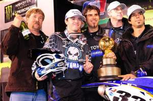 It was a dream come true for Grant and JGR