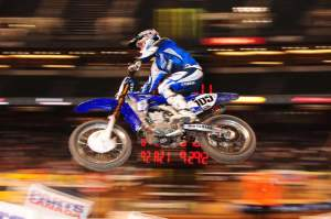 Hambone is back! I'm bummed that he ran #105 instead of 32 but he said he had no say in it. Yamaha just got the backgrounds made. I think if you don't use your assigned number you should lose it and some other lucky dude will get that hard earned national number.
