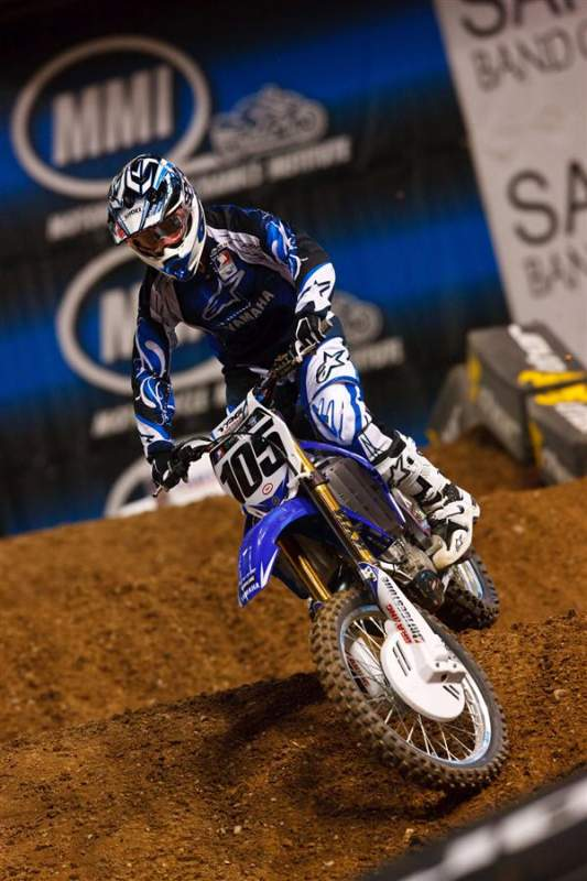 Factory Yamaha's Sean Hamblin