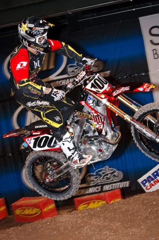 Rockstar Energy/Hart & Huntington Honda's Josh Hansen