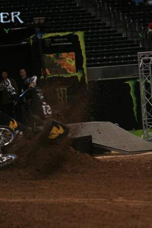 Cody's had a rough introduction to supercross