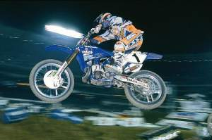 Jeremy McGrath was the last rider to don the #1 plate in AMA supercross.