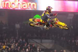 Chad Reed is very comfortable with his 2009 set-up.