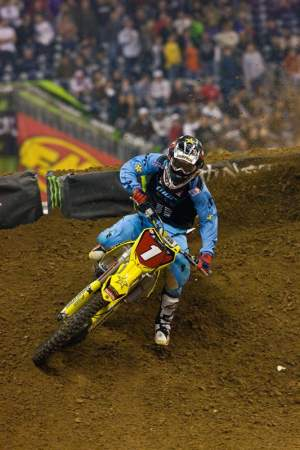 Chad Reed is still the points leader, but only by nine