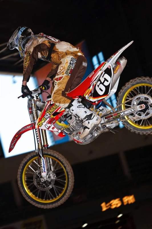 DNA Energy/BTOSports.com/BBMX Honda's Shaun Skinner