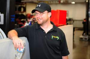 Eric Vaden is the man behind the GEICO Powesports sponsorship of the Factory Connection Racing team.