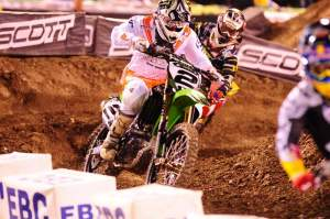 RV had his best race of the year at A2. He probably still isn't happy with a fourth, but I would be. But that's the difference between a top SX athlete like RV and a guy like me. One's never satisfied and the other just wants another cheeseburger.