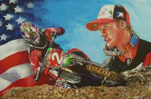 Rob Kinsey's latest painting