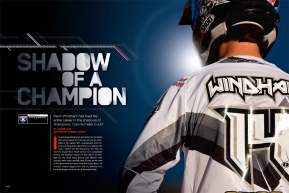 Kevin Windham is one of the most naturally talented riders in MX history, but because of some legendary competitors, he's never won a major pro title. As Steve Cox found out, K-Dub isn't giving up yet. Page 120.