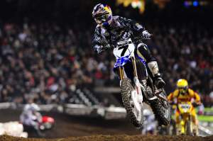 James Stewart led the main event from the start.