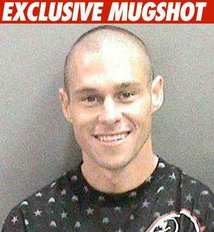 "TMZ even ran what they labeled as ""Exclusive Mugshot"" of Brian Deegan"