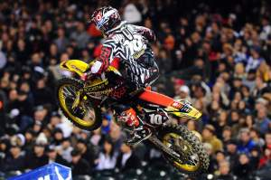 Ryan Dungey chased Weimer down valiantly.