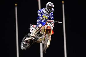 In his first race back since suffering a concussion at Phoenix, Trey Canard came through for a solid third.