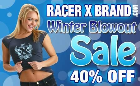 Racer X Brand sale