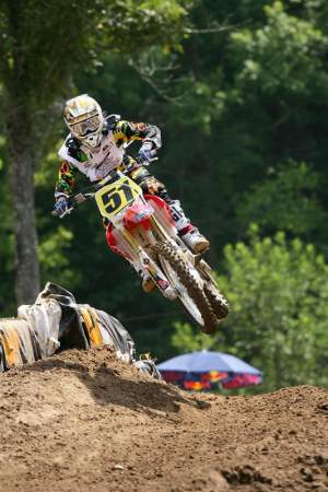 The word in the Atlanta airport is that Justin Barcia is going very fast