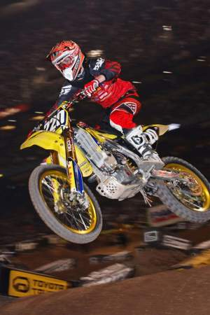 Cole Seely has qualified for two SX Lites main events thus far in 2009
