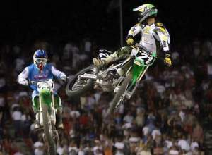 Roncada is one of only a few riders to ever challenge James Stewart