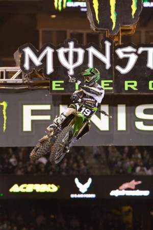 Jake Weimer beat Ryan Dungey straight-up twice on Saturday night