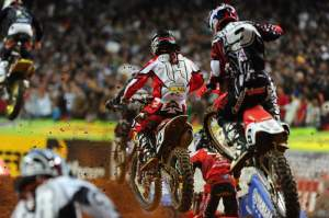 Twelve factory riders and Matt Boni made up the top 13 in Atlanta.
