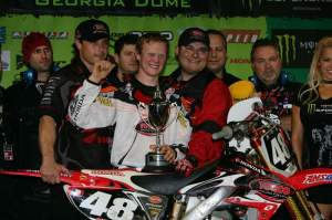 Trey Canard shocked the motocross world when he won the East Coast Lites championship over Villopoto