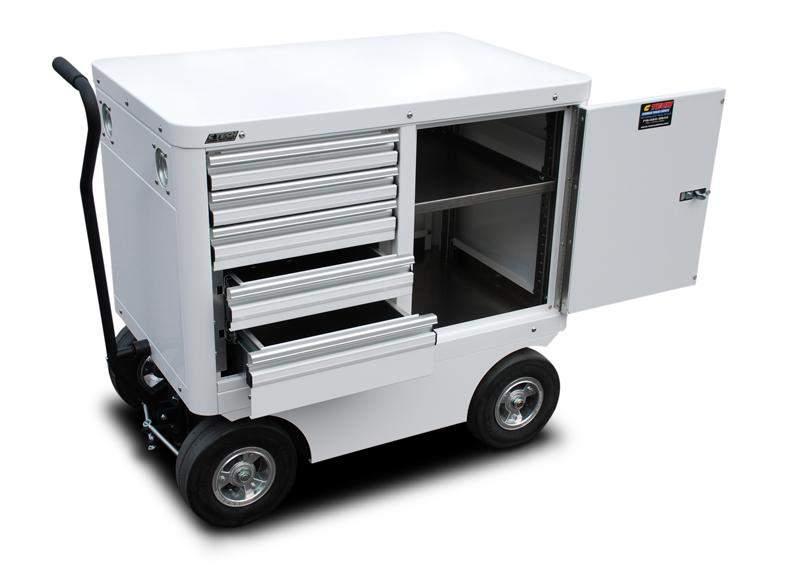 ctech aluminum cabinets and carts introduces the mini cart - racer