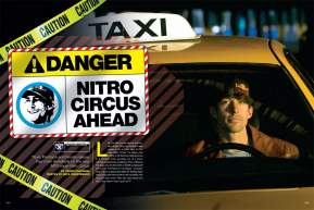 Already a home-video phenomenon, Travis Pastrana's Nitro Circus franchise has found a new home on MTV as the spiritual successor to Jackass. Travis discusses his move to basic cable in this feature. Page 134.