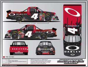 RC's new NASCAR truck