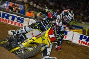Chad Reed got his third win in the last four races in jam-packed St. Louis