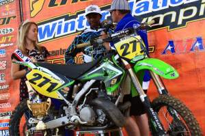 Malcolm Stewart turned a lot of heads on his KX250 last summer