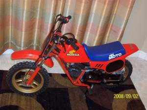 The 1984 Honda QR50 Minimoto