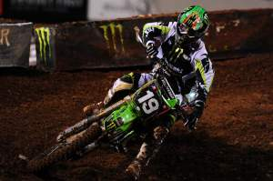Jake Weimer had a great ride from mid-pack to nearly win the race at the finish, finishing second.